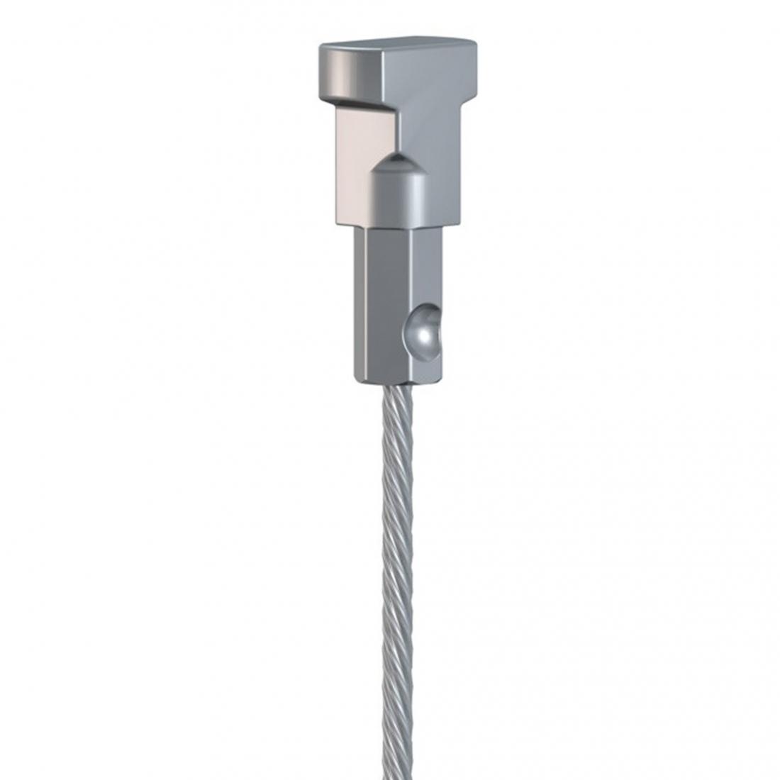 cable de acero para colgar cuadros, de 2 metros artiteq