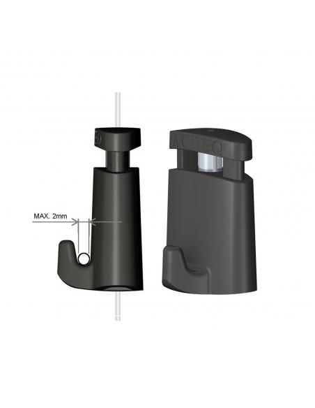 medidas del gancho para colgar cuadros microgrip de Artiteq