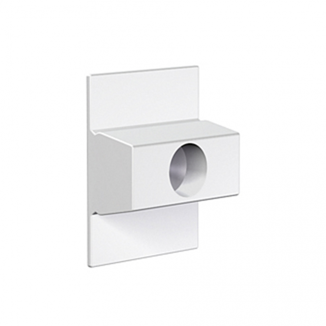 conector de pared para tira de perfil riel guia para colgar cuadros sin hacer agujeros, de artiteq click rail 30 kg