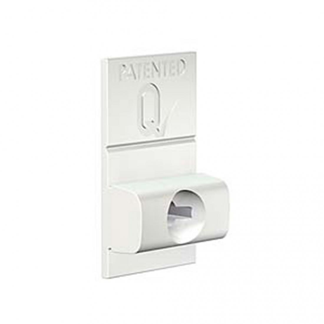 conector de pared para tira de perfil riel guia para colgar cuadros sin hacer agujeros, pro 50 kg de artiteq