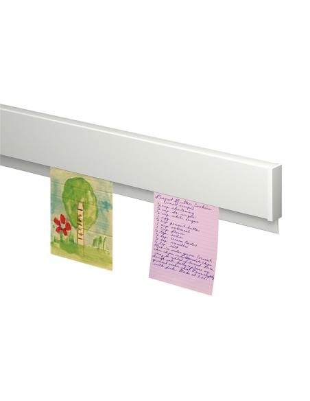 Como colgar notas con la guia de pared info blanca de Artiteq