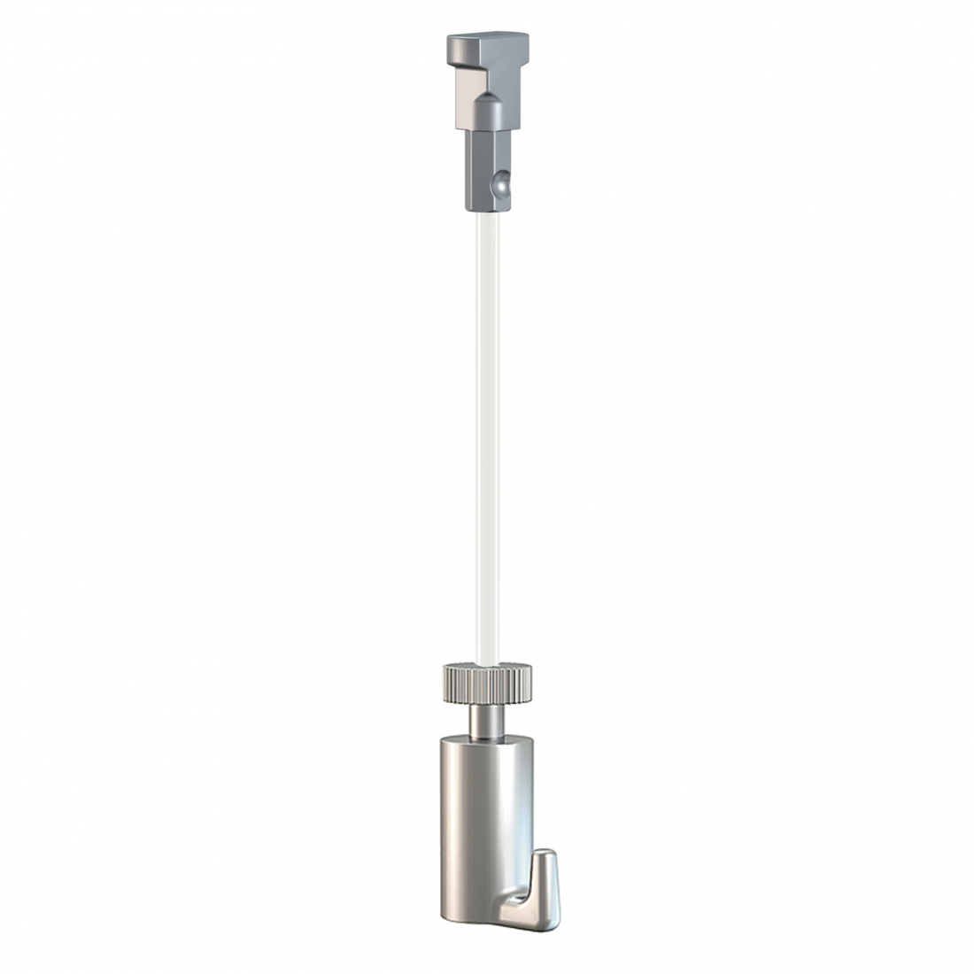 KIT de CABLE de NYLON para guia para colgar cuadros artiteq, modelo TWISTER , con GANCHO para colgar cuadros de 15 KG