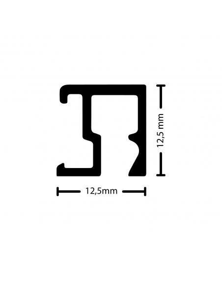 Medidas de la guia para colgar cuadros Contour de Artiteq